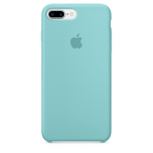 Apple Orijinal iPhone 7 / 8 Deniz Mavisi Silikon Kılıf-2