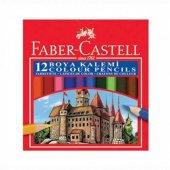 Faber Castel Kuru Boya Kalemi 12 Li Kısa