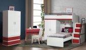 Ranza , Setay Bueno Red Ranzalı Genç Odası , Setay Ranzalar 3