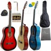 Klasik Gitar Hidalgo MH 860 4/4 Tam Boy Yetişkin Gitarı  Sap Ayarlı