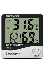 Loobex Htc 2 Dijital Nem Ve Sıcaklık Ölçer Thermo Higrometre
