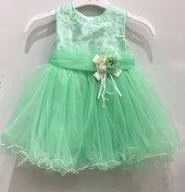 Kız Çocuk Yeşil Abiye