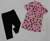 Kız Çocuk Tunikli Elbise Tunik+tayt