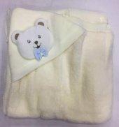 Triko battaniye kapşonlu figürlü | Bebbemini - 196