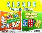 Alfabe Tombala Oyunu (+4 Yas Üzeri)