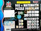 Yaz Sil Boş Puzzle Parçaları Matematik (+4 Yas Üzeri)