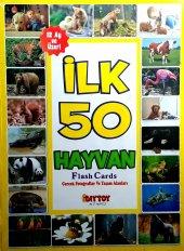Flash Card İlk 50 Hayvan(12 Ay Üzeri)