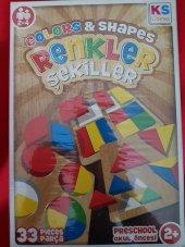 Ks Games Renkler Ve Şekiller 33 Parça Eğitici...