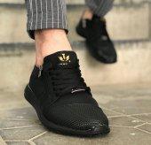 Wagoon Fermuar Detaylı Baskılı Erkek Sneaker Ayakkabı-2