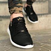 Wagoon Fermuar Detaylı Baskılı Erkek Sneaker Ayakkabı-5
