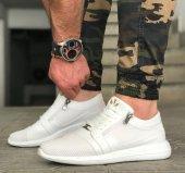Wagoon Fermuar Detaylı Baskılı Erkek Sneaker Ayakkabı-7