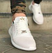 Wagoon Fermuar Detaylı Baskılı Erkek Sneaker Ayakkabı-8