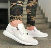 Wagoon Fermuar Detaylı Baskılı Erkek Sneaker Ayakkabı-9