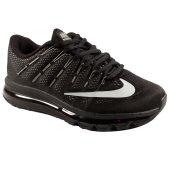 Nike Air Max 2016 Siyah Beyaz Erkek Koşu Ayakkabısı