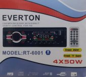 Everton Rt 6001 Bluetooth Usb, Sd, Fm , Aux Oto Teyp