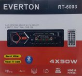 Everton Rt 6003 Bluetooth Usb, Sd, Fm , Aux Oto Teyp