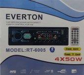 Everton Rt 6005 Bluetooth Usb, Sd, Fm , Aux Oto Teyp