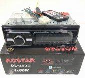 DL-2022-3 Rostar Bluetooth, usb, sd, fm, aux, 4x60W, oto teyp