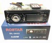 DL-2022-2 Rostar Bluetooth, usb, sd, fm, aux, 4x60W, oto teyp