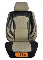 Oto koltuk kılıfı kapitone silikonlu serisi-5