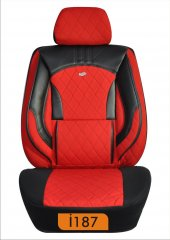 Oto koltuk kılıfı kapitone silikonlu serisi-6