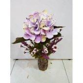 Yapay Çiçek Ortanca Papatya Ağaç Tanzim