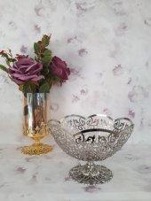 Dalgıç Gümüş Şekerlik Çikolatalık Söz Nişan Altın Gümüş Gold Silv