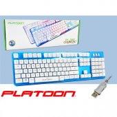 Platoon Pl 352 Oyuncu Işıklı Usb Kablolu Klavye...