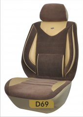 Oto koltuk kılıfı silikonlu gold serisi-9