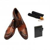 Eray Kundura Klasik Siyah Ve Taba Seçenekli Erkek Ayakkabısı