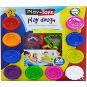 Play Toys 24 Parça Paket Oyun Hamur Big Set