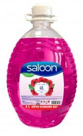 Saloon Sıvı Sabun 4lt Gül