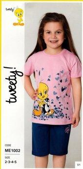 Tweety Kız Çocuk Pijama Takımı Me1002 (4 8 Yaş)...