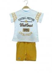 R.Kol Football Baskı Kapri Takım 2-9 Yaş Erkek Çocuk Giyim-6