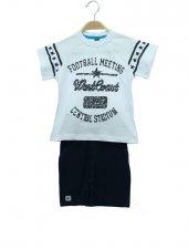 R.Kol Football Baskı Kapri Takım 2-9 Yaş Erkek Çocuk Giyim-3
