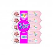 Uni Baby Cream Islak Havlu 5li Avantaj Paket
