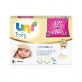 Uni Baby Sensitive 12li Mega Paket Islak Havlu...