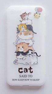 ı Phone 7 Plus 8 Plus Cat Telefon Kılıfı