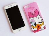 ı Phone 7 Plus 8 Plus Pink Minnie Telefon Kılıfı