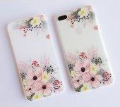 ı Phone 7 Plus 8 Plus Flower Telefon Kılıfı