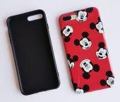 I Phone 7 Plus - 8  Plus Red Micky Telefon Kılıfı-2
