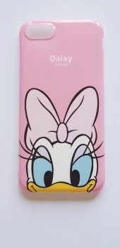 ı Phone 7 Plus 8 Plus Pink Micky Mouse Telefon Kılıfı