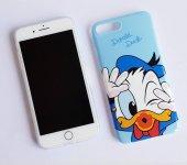 I Phone 7 Plus - 8  Plus Blue Donald Duck Telefon Kılıfı
