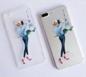 ı Phone 7 Plus 8 Plus Dress Girl Telefon Kılıfı