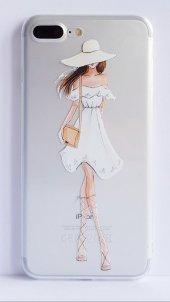 I Phone 7 Plus - 8  Plus Dress Girl Telefon Kılıfı-2