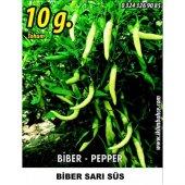 Biber Tohumu Sarı Süs 10 G (Takribi 800 Tohum)