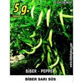 Biber Tohumu Sarı Süs 5 G (Takribi 400 Tohum)