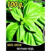 Reyhan Tohumu Fesleğen Yeşil Renk 100 G