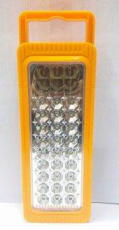 KM-6816 Şarjlı ve pilli Işıldak fener 27+6 led