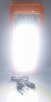 KM-6816 Şarjlı ve pilli Işıldak fener 27+6 led-3